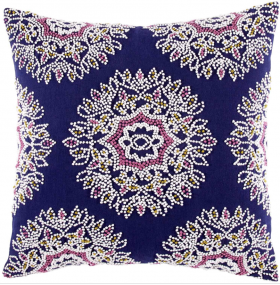 Hand Knotted Decorative Pillow
