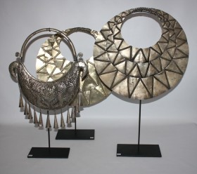 Miao Necklace on Stand