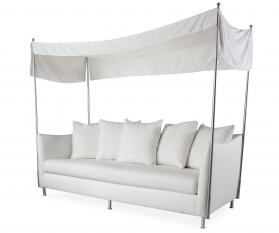 Oleander Outdoor Sofa with Canopy
