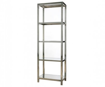 Stainless Steel Bookcase / Etagere