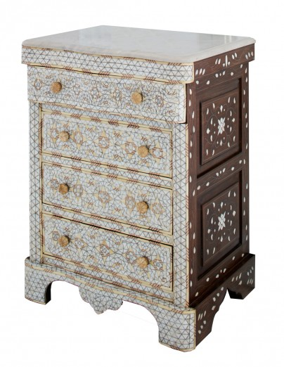 Petite Mother of Pearl Dresser