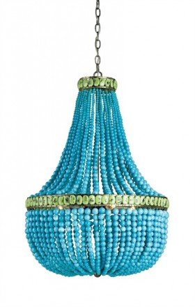 Hedy Chandelier - Turquoise