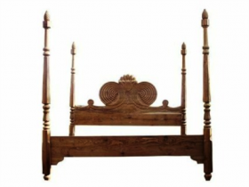 British Colonial 4-Post Bed