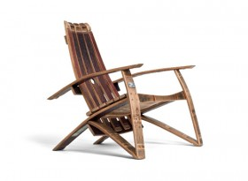 Authentic Wine Barrel Chair - Limited Edition