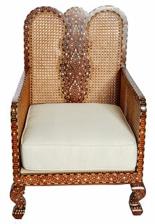Butterfly Chair - Bone Inlay